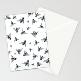Fly Dotwork Stationery Cards