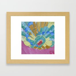 Sweet Skies - Panel 4 Framed Art Print