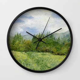 Underhill Fields Wall Clock
