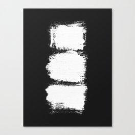 Abstract, Brush, Scandinavian, Minimal, Modern, Wall art Canvas Print