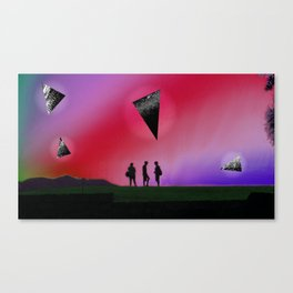 standing people Canvas Print