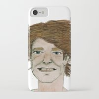 dad iPhone & iPod Cases featuring dad by Rainey Emerson