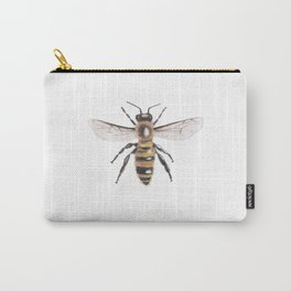 Bee Scientific Illustration Carry-All Pouch