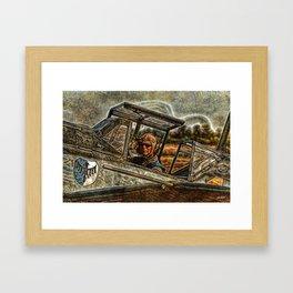 143 Buchon Pilot Framed Art Print