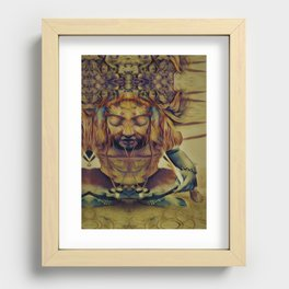 """""""Scrye with Me"""" Recessed Framed Print"""