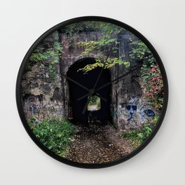 The Screaming Tunnel Wall Clock