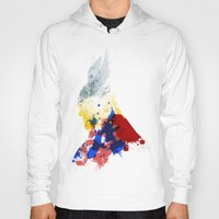 nordic Hoodies featuring Nordic Star by Arian Noveir