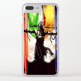 Well Balanced Shot Clear iPhone Case