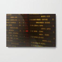 Brussels VIII Metal Print