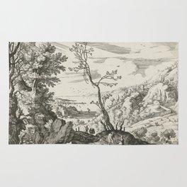 Landscape With Judah And Tamar Willem van Nieulandt II Rug