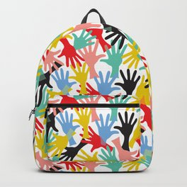 CELEBRATE! Graphic Hands Backpack