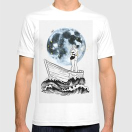 Night above the moon. T-shirt