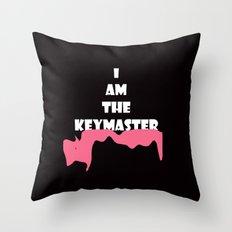 Key Master  Throw Pillow