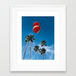 Hanging in Santa Cruz Framed Art Print