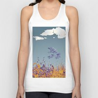 pigeon Tank Tops featuring pigeon by Shelby Claire