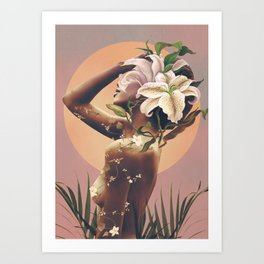 Floral beauty 3 Art Print