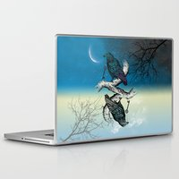 key Laptop & iPad Skins featuring Raven's Key Night+Day by Rachel Caldwell