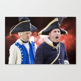 French historical army Canvas Print