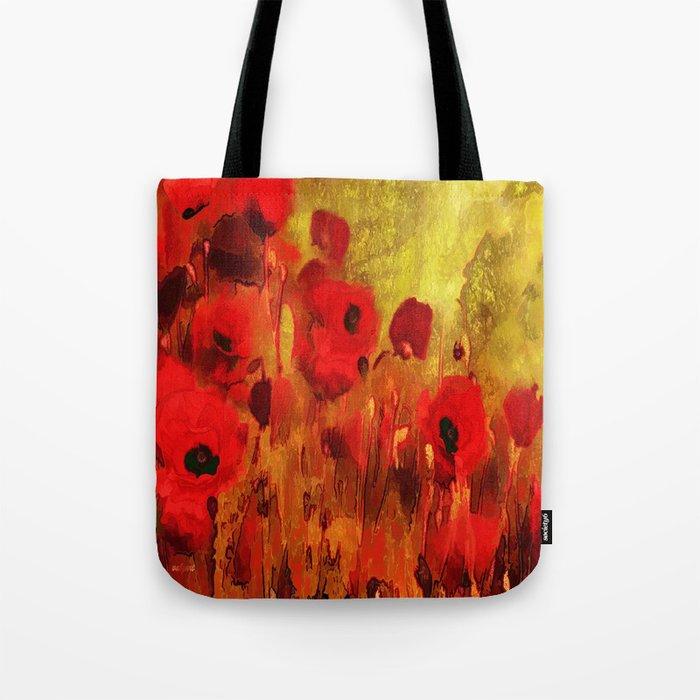 FLOWERS - Poppy reverie Tote Bag