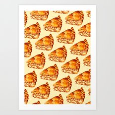 Apple Pie Pattern Art Print