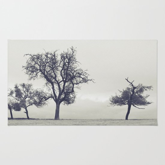 bleak trees... Rug