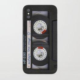 Mixtape: Love Songs iPhone Case