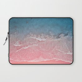 Bahamas pink blue Laptop Sleeve