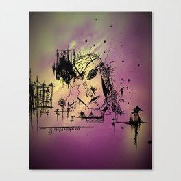 """""""Facade"""" Canvas Print"""