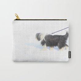 Snow Dog Carry-All Pouch