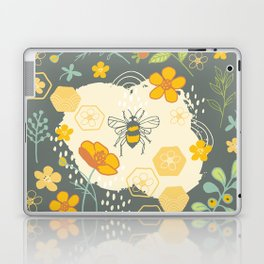 Little Bee and Buttercups Laptop & iPad Skin