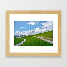 Sky Park Framed Art Print