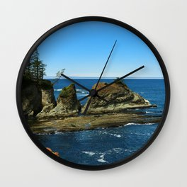 Coos Bay Wall Clock