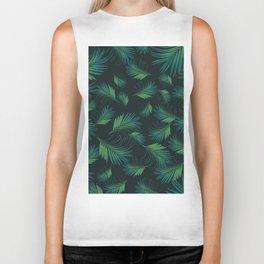 Tropical Night Palms Pattern #1 #tropical #decor #art #society6 Biker Tank