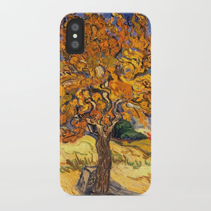 online retailer 31415 e70de The Mulberry Tree by Vincent van Gogh iPhone Case by vintage_archive