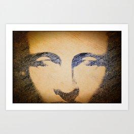 Human Divinity  Art Print