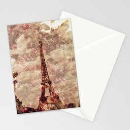 Iron Lady in Flower Dress Stationery Cards