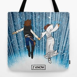 The Captain and the Princess Tote Bag
