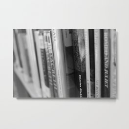 The Lovely Library Metal Print