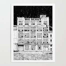Big Scout Tour Poster Poster