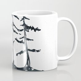 THE THREE SISTERS Black and White Coffee Mug