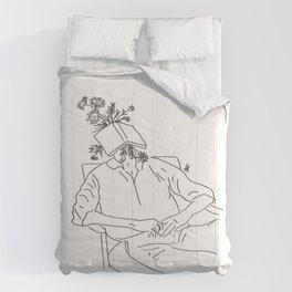 the power of books Comforters