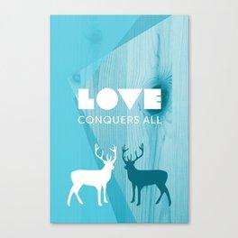 Love Conquers All Canvas Print