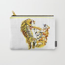 Tiger Fight Carry-All Pouch