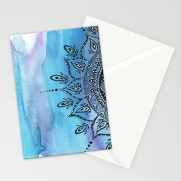 Blue Mandala Stationery Cards