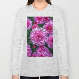 Purple Mums Long Sleeve T-shirt