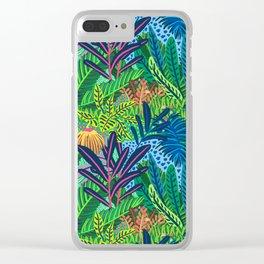 Laia&Jungle II Clear iPhone Case