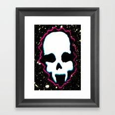 Ghost Demon Framed Art Print