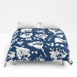 Seed Pod Indigo Comforters