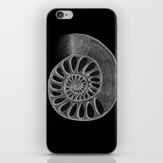 gyre black iPhone & iPod Skin