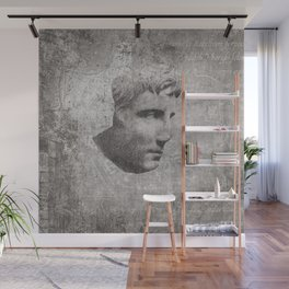 ANCIENT / Head of Augustus Wall Mural